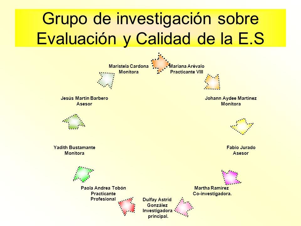 Grupo de investigación sobre Evaluación y Calidad de la E.S
