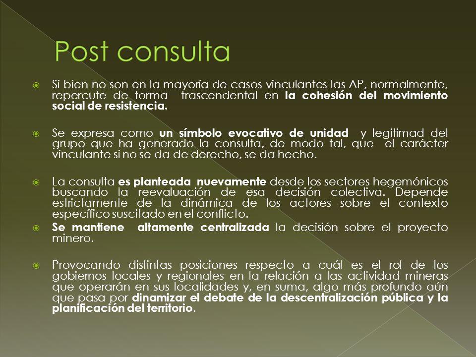 Post consulta
