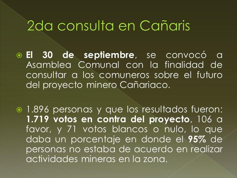 2da consulta en Cañaris