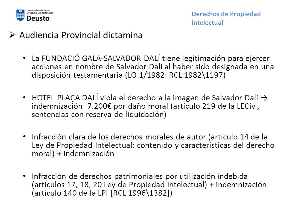 Audiencia Provincial dictamina