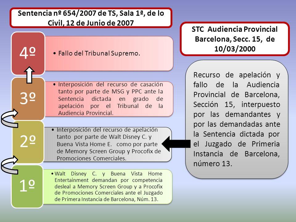 Sentencia nº 654/2007 de TS, Sala 1ª, de lo Civil, 12 de Junio de 2007