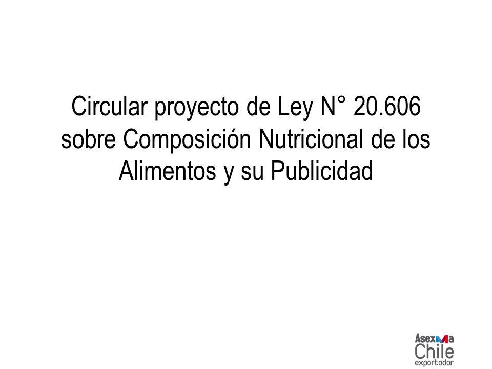 Circular proyecto de Ley N° 20