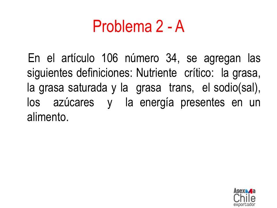 Problema 2 - A