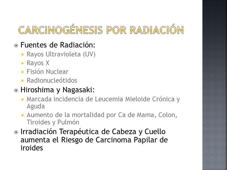 Carcinogénesis por radiación