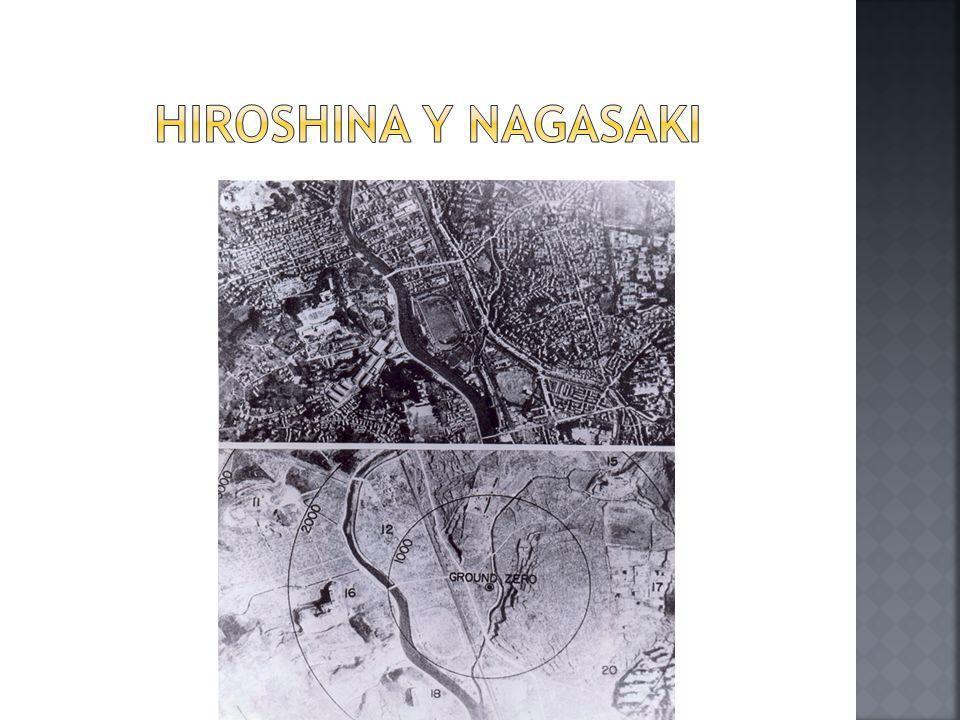 Hiroshina y Nagasaki