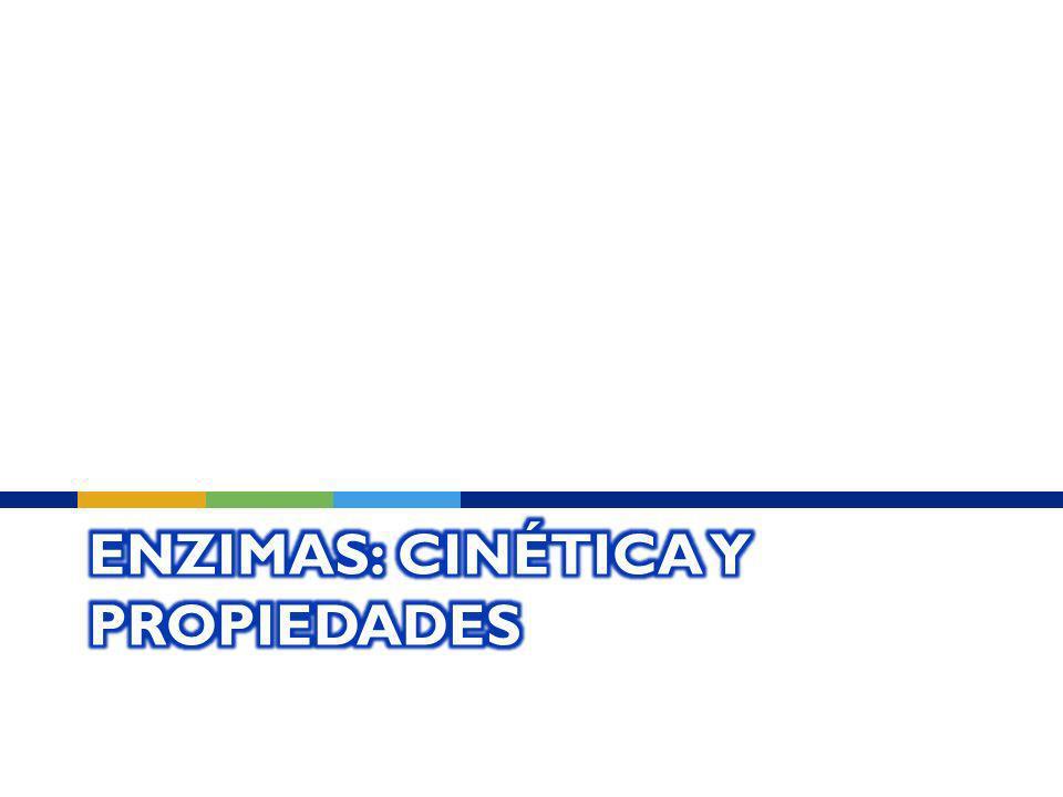 Enzimas: Cinética y propiedades
