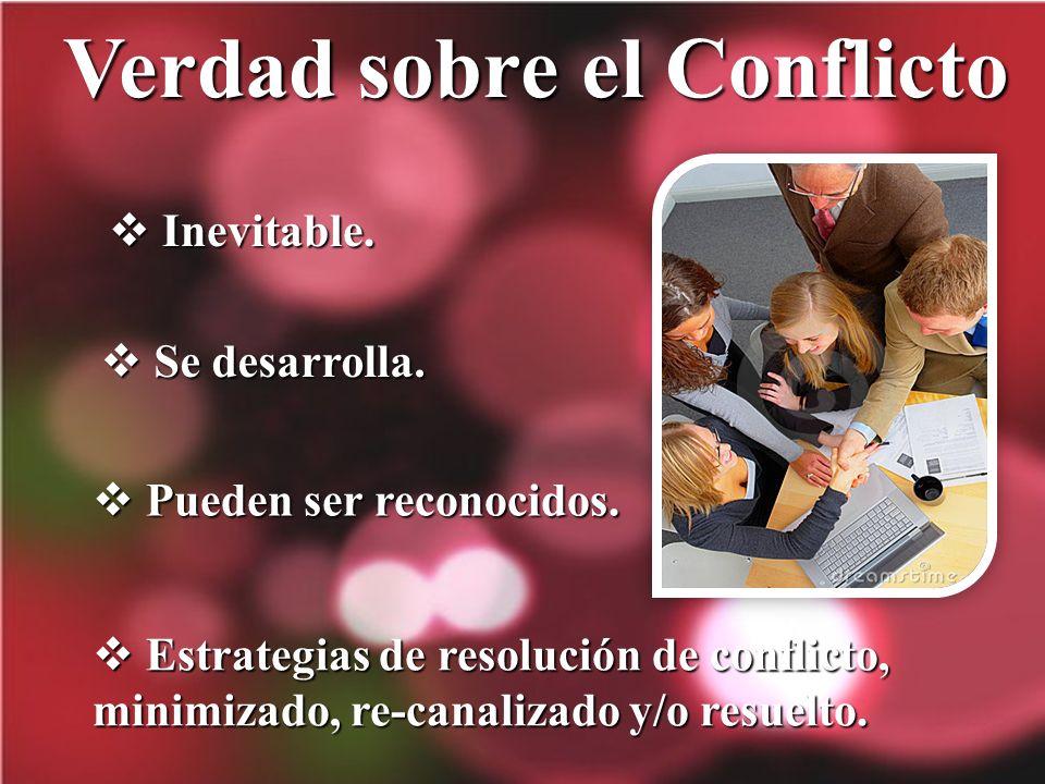 Verdad sobre el Conflicto