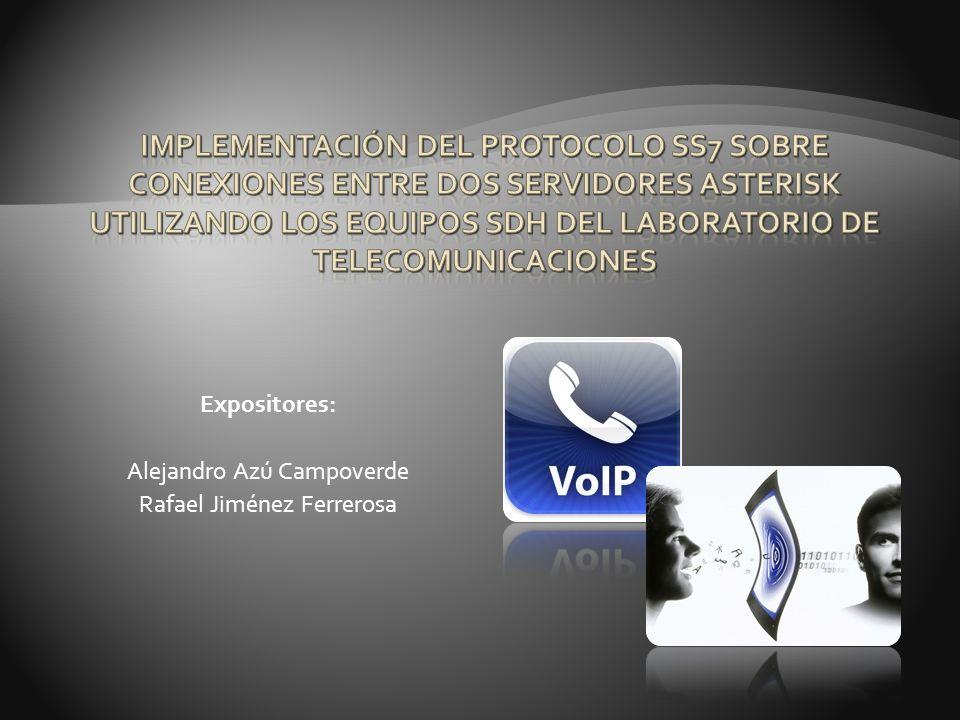 Expositores: Alejandro Azú Campoverde Rafael Jiménez Ferrerosa