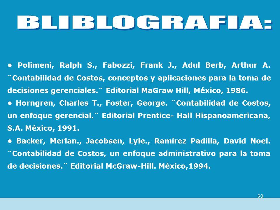 BLIBLOGRAFIA: