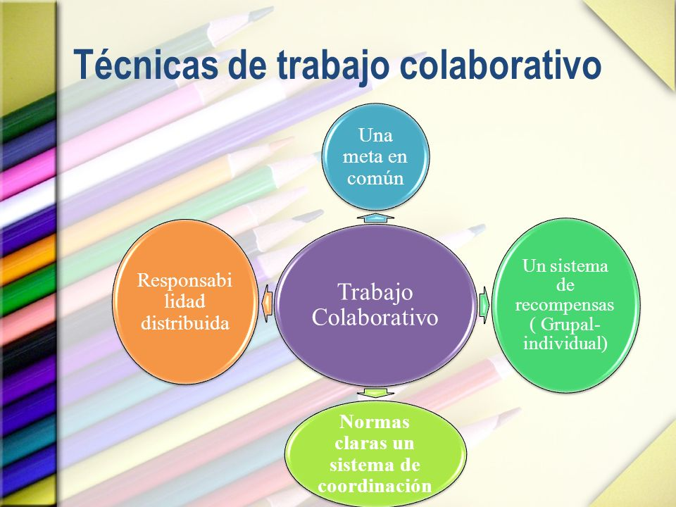 Técnicas de trabajo colaborativo