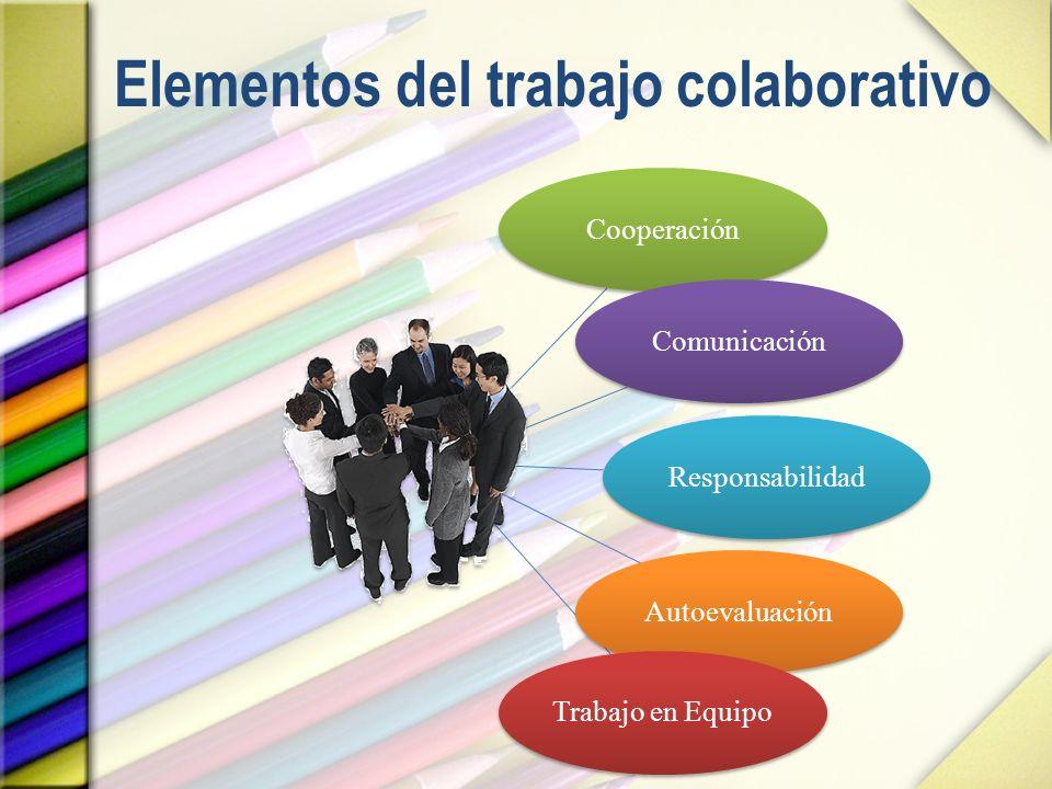 Elementos del trabajo colaborativo