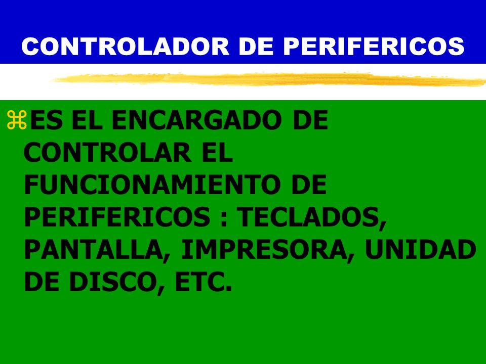 CONTROLADOR DE PERIFERICOS