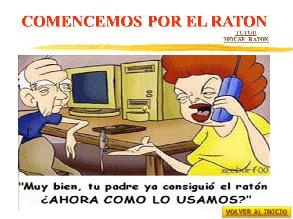 COMENCEMOS POR EL RATON