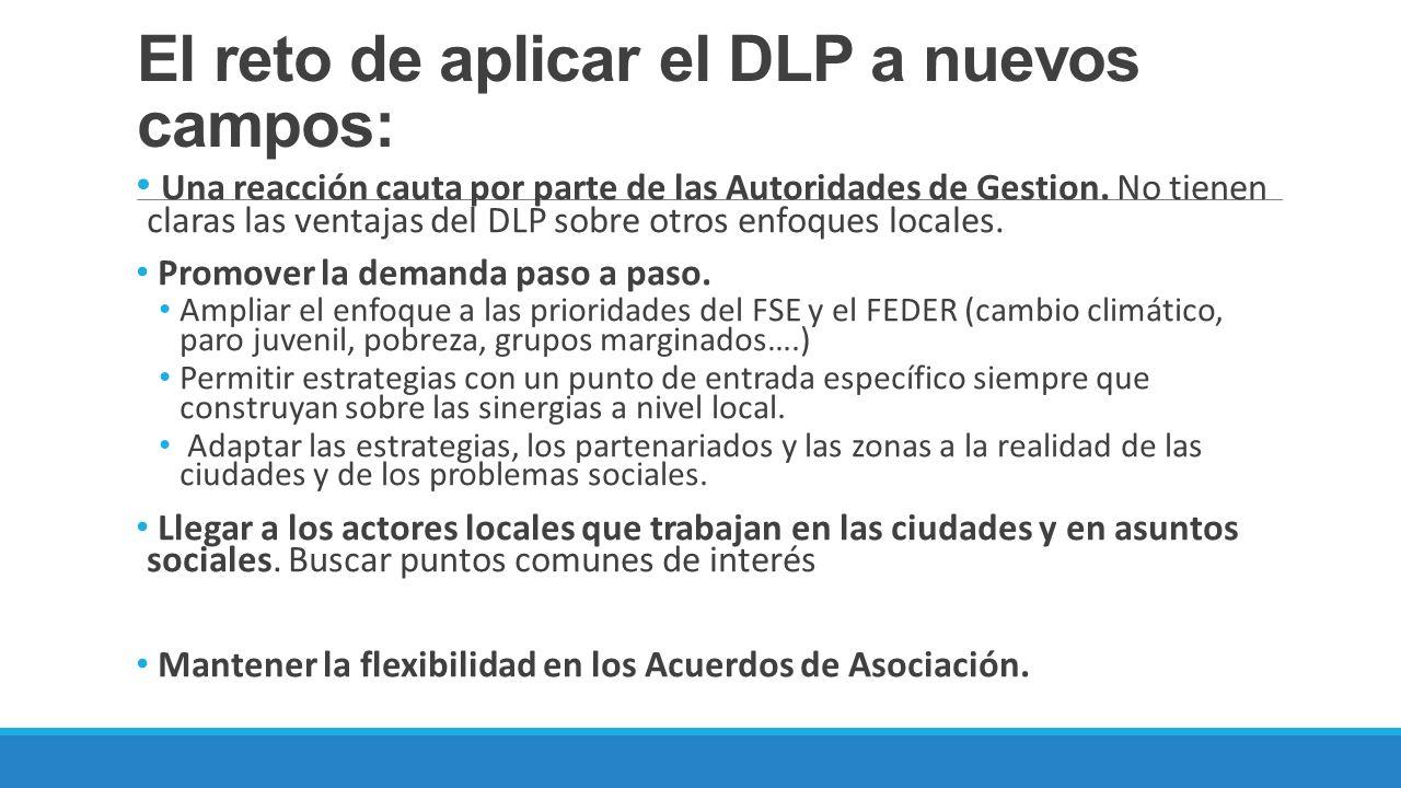 El reto de aplicar el DLP a nuevos campos: