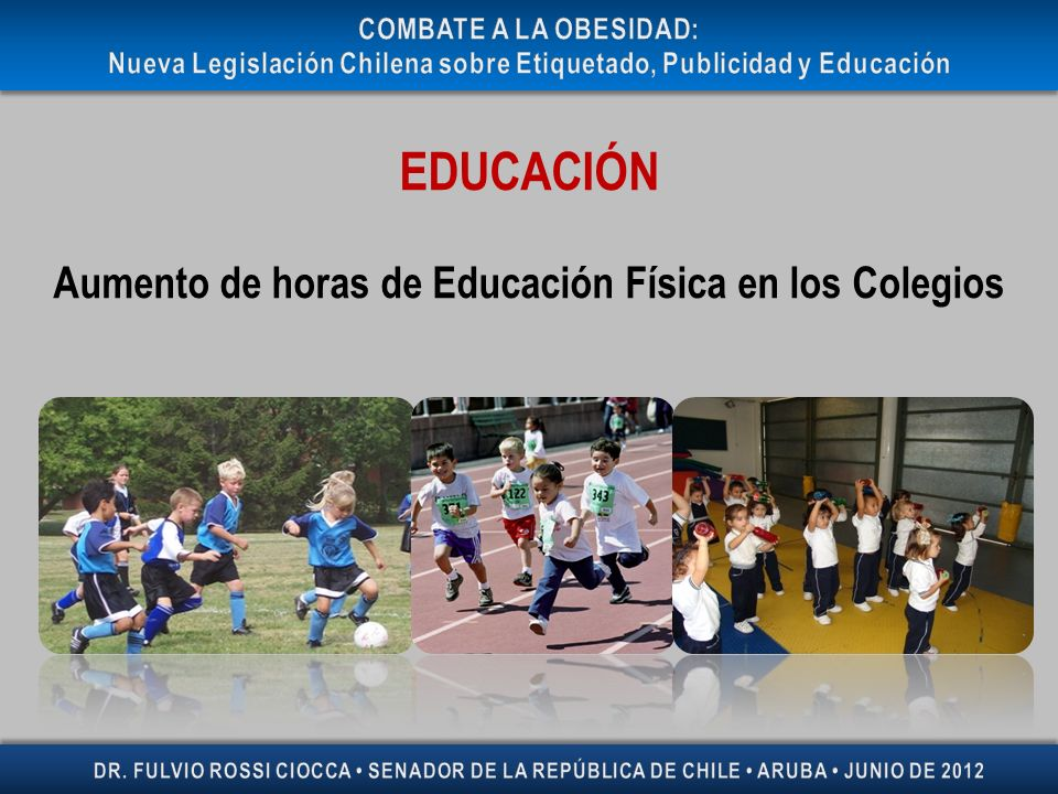 Nueva Legislación Chilena sobre Etiquetado, Publicidad y Educación