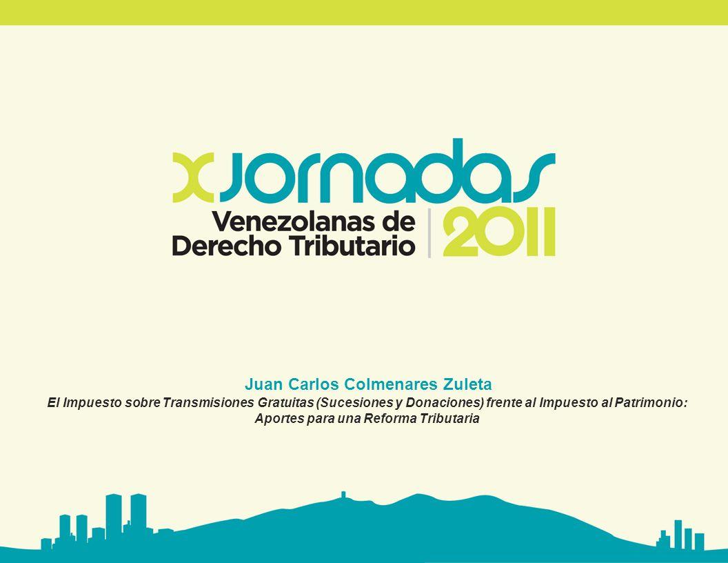 Juan Carlos Colmenares Zuleta Aportes para una Reforma Tributaria