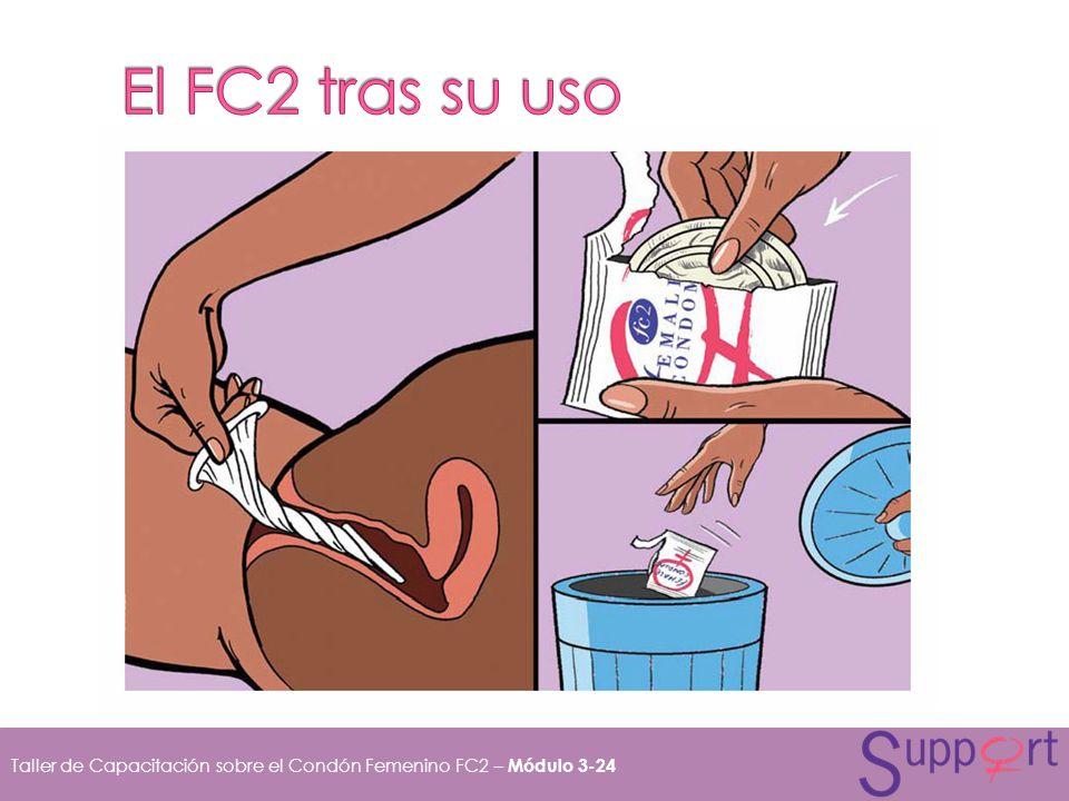El FC2 tras su uso