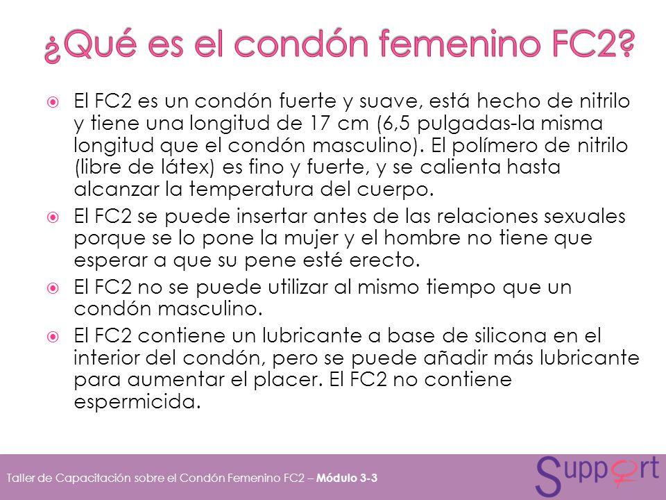 ¿Qué es el condón femenino FC2