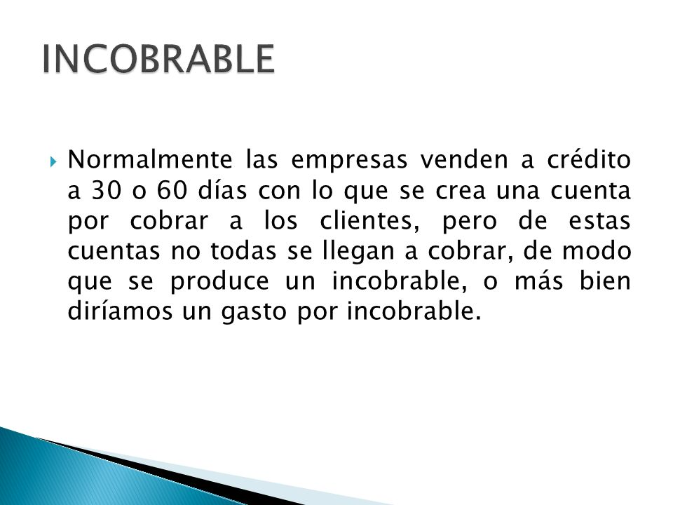 INCOBRABLE