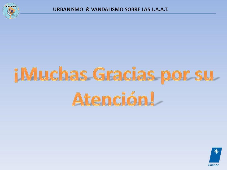 URBANISMO & VANDALISMO SOBRE LAS L.A.A.T.