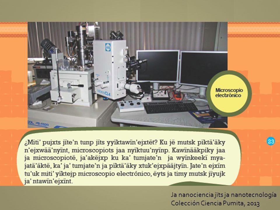 Ja nanociencia jïts ja nanotecnología