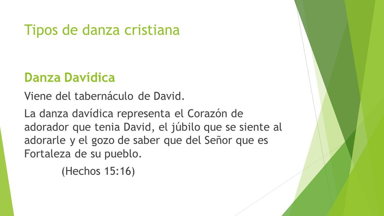 Tipos de danza cristiana