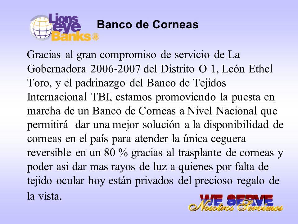 Banco de Corneas