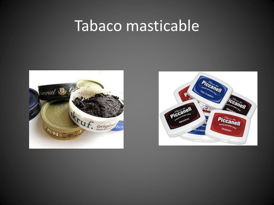 Tabaco masticable