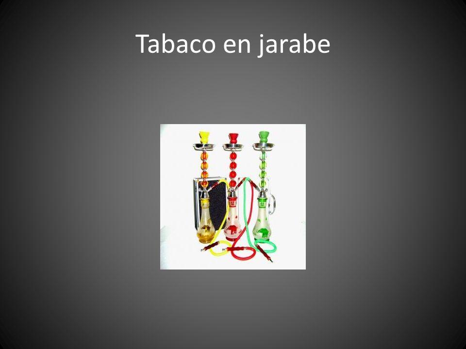 Tabaco en jarabe