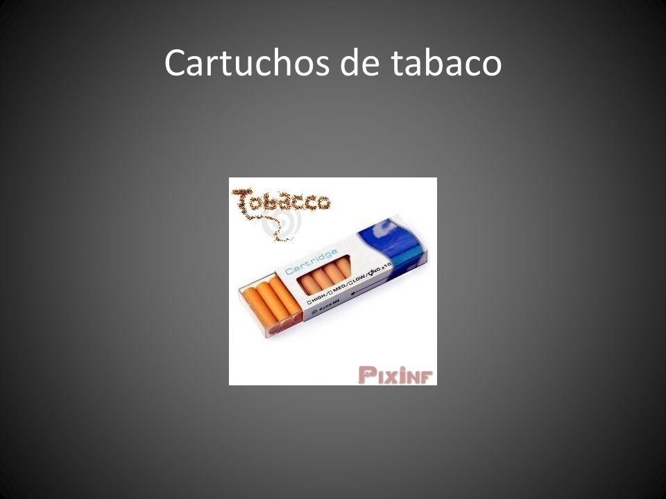 Cartuchos de tabaco