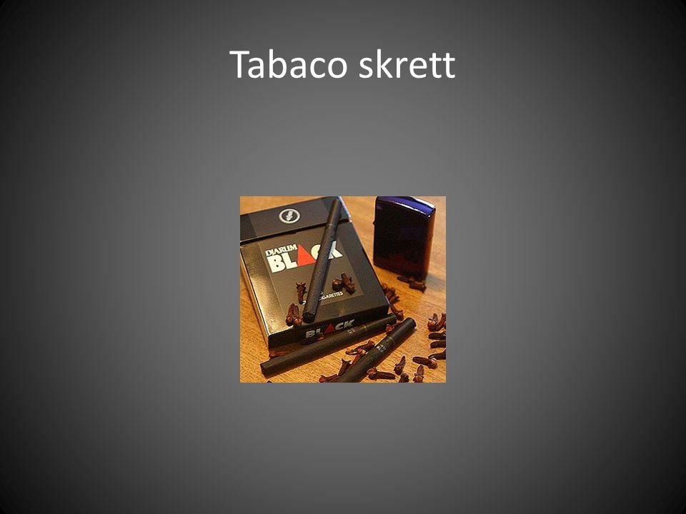 Tabaco skrett