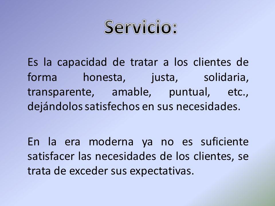 Servicio: