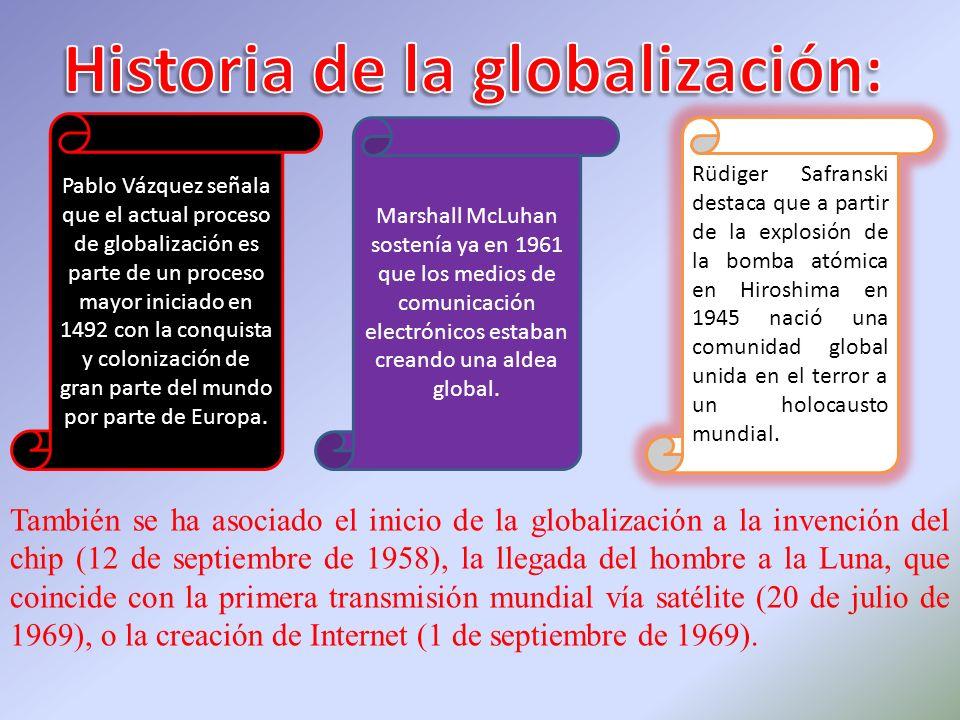 Historia de la globalización:
