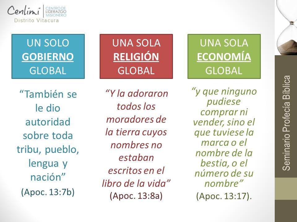 UN SOLO GOBIERNO GLOBAL UNA SOLA RELIGIÓN GLOBAL