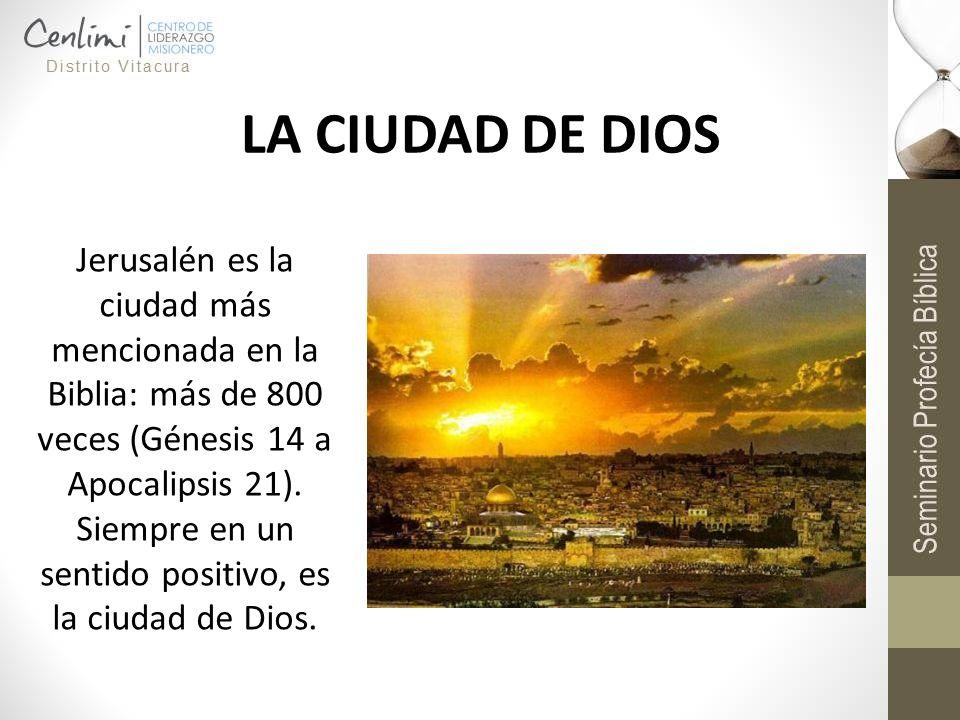 LA CIUDAD DE DIOS