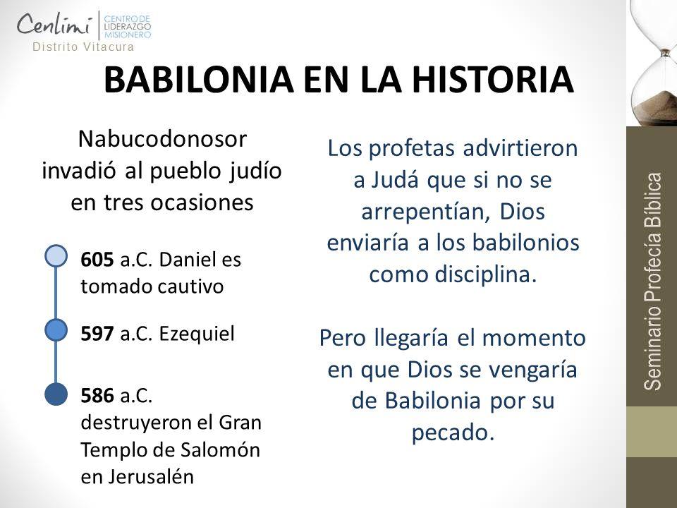 BABILONIA EN LA HISTORIA