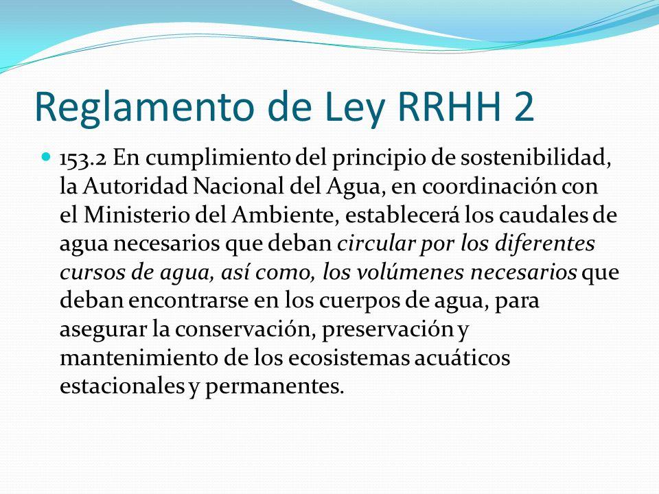 Reglamento de Ley RRHH 2