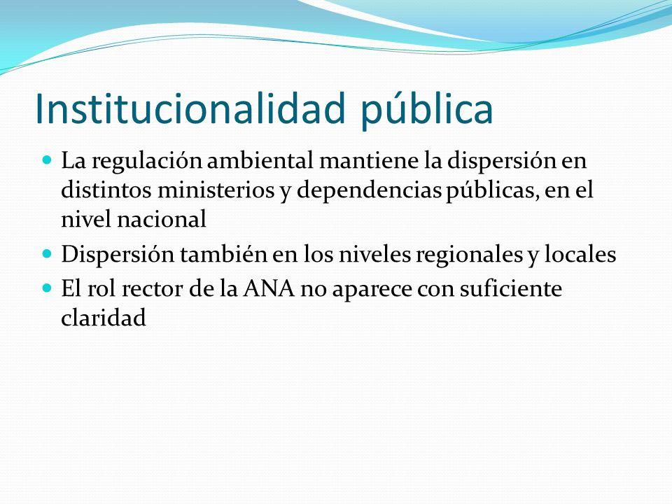 Institucionalidad pública