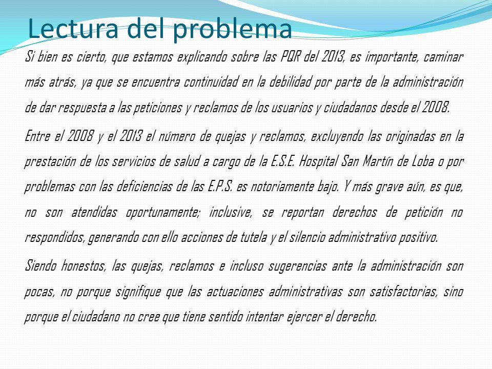 Lectura del problema