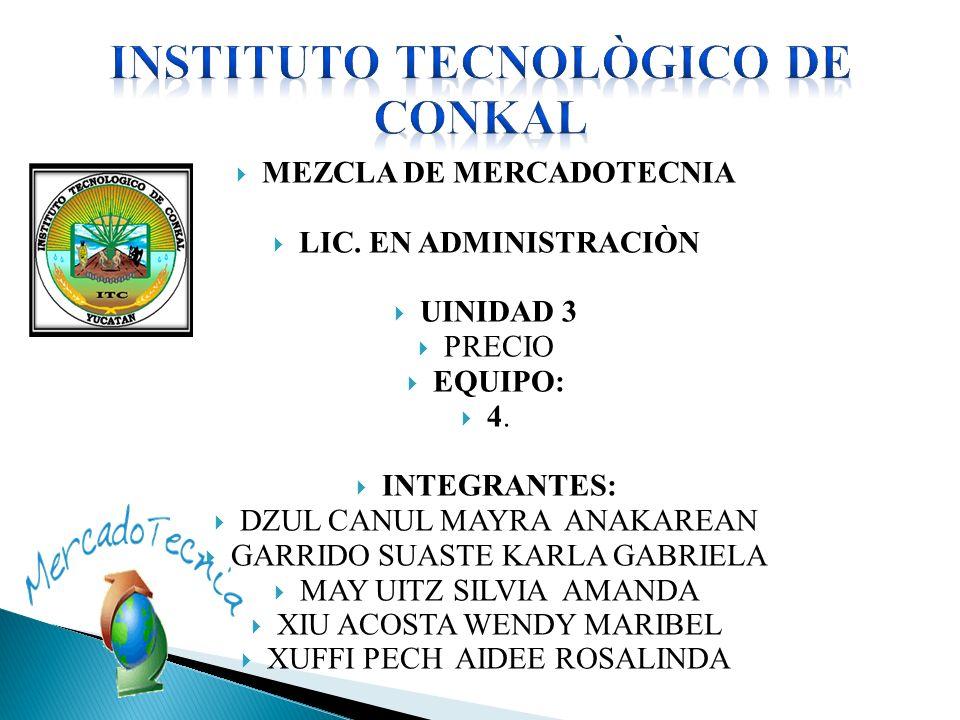 INSTITUTO TECNOLÒGICO DE CONKAL