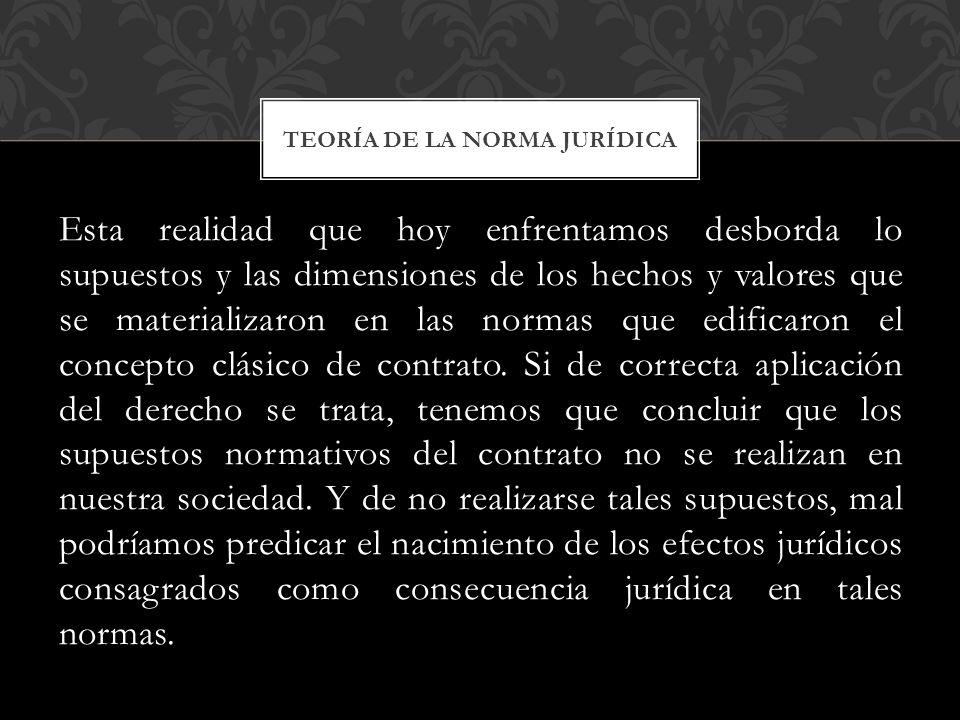 TEORÍA DE LA NORMA JURÍDICA