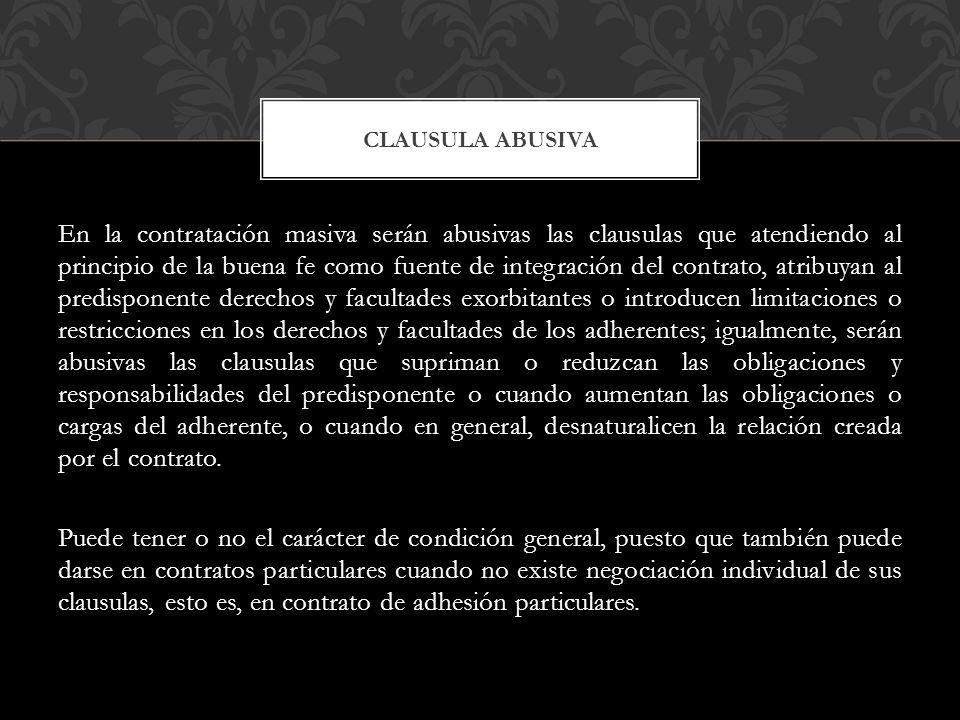Clausula abusiva