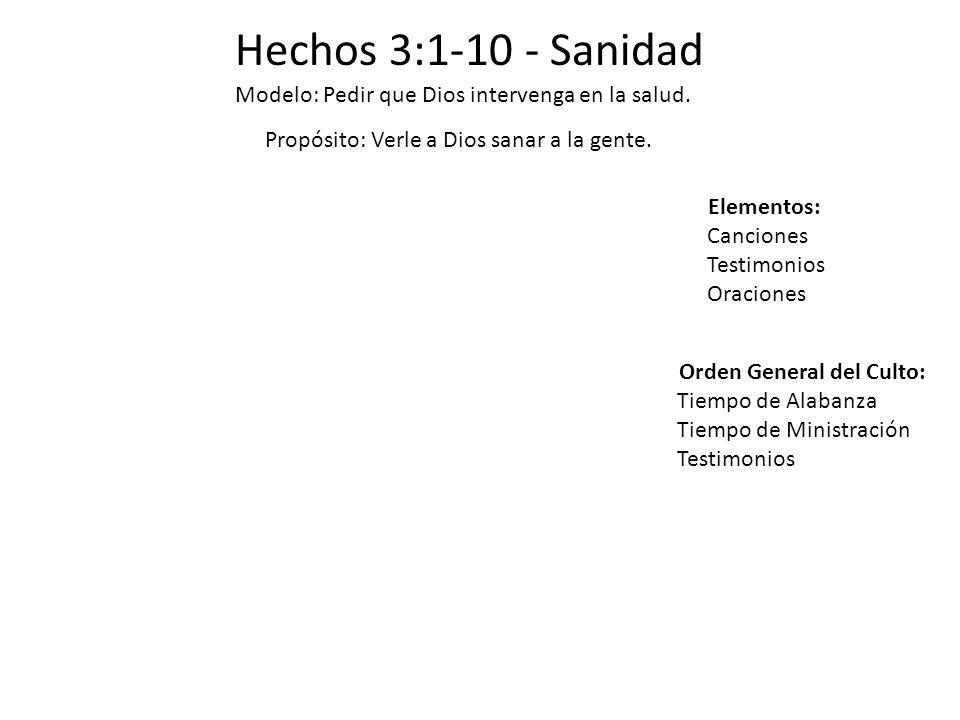 Orden General del Culto: