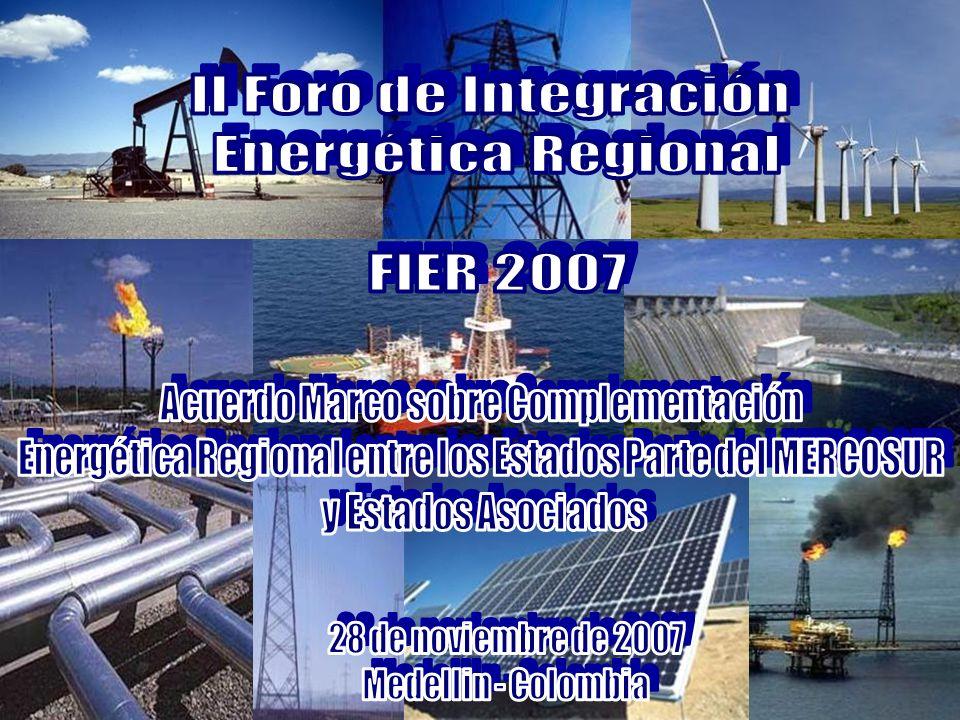 II Foro de Integración Energética Regional FIER 2007