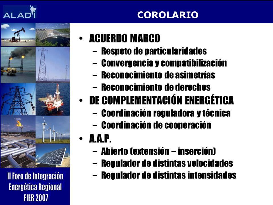 DE COMPLEMENTACIÓN ENERGÉTICA