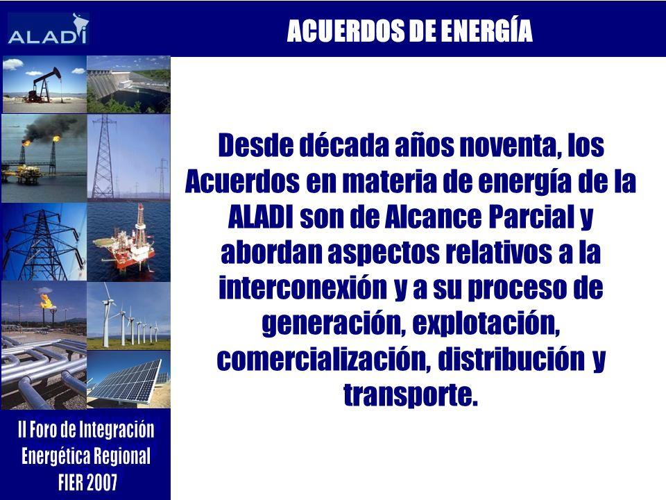 ACUERDOS DE ENERGÍA