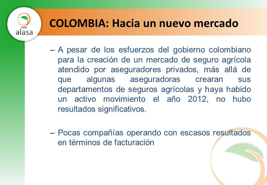 COLOMBIA: Hacia un nuevo mercado
