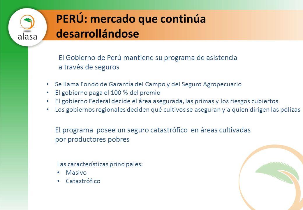 PERÚ: mercado que continúa desarrollándose