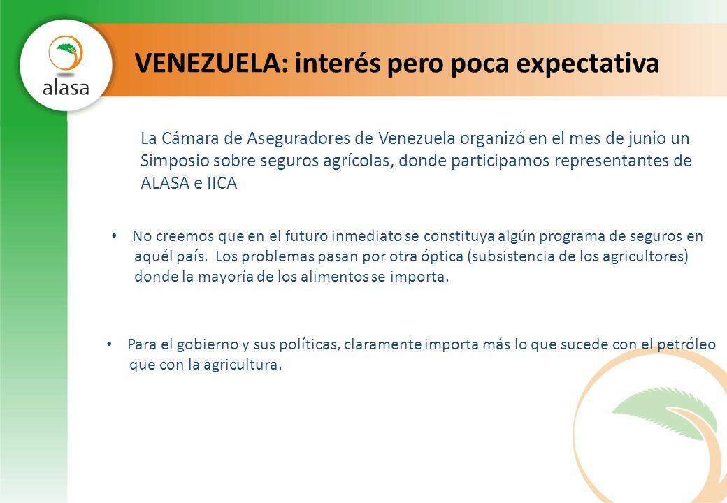 VENEZUELA: interés pero poca expectativa