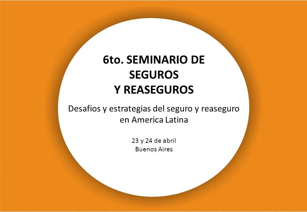 6to. SEMINARIO DE SEGUROS
